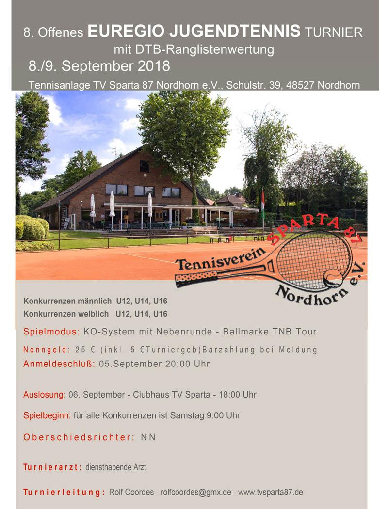 08./09.09.18 – Euregio Jugendturnier