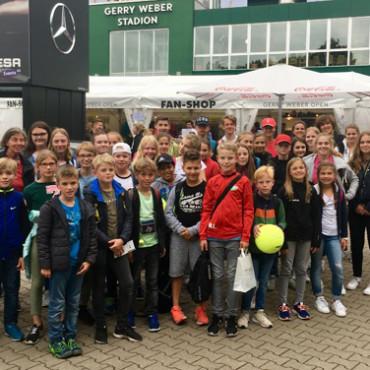 TV Sparta 87 Nordhorn bei den Gerry Weber Open