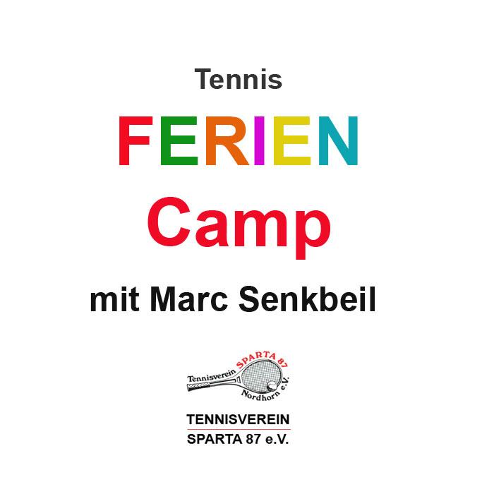 08.-12.07.19 Feriencamp Tennis mit Marc Senkbeil