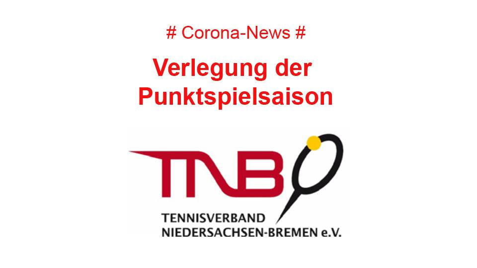 Tennisverband Niedersachsen-Bremen verschiebt Punktspielstart