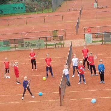 Ehrung und Abschluss der Tennisjugend